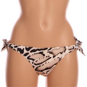 Andres Sarda - Iman bikinitrusse med bindebånd ecru