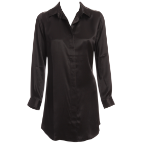 Marjolaine - Soie Unie Silkeskjorte black