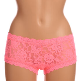 Hanky Panky - Signature Lace boyshorts pink glop