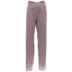 Marjolaine - Soie Unie Pantalon Silkebukser etain