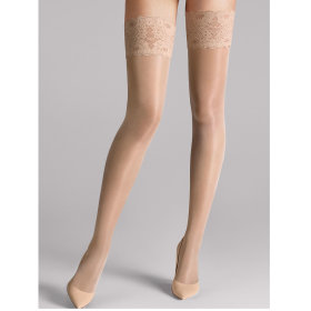Wolford - Stay Up Satin Touch 20 denier cosmetic