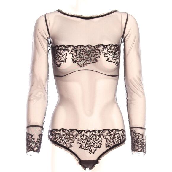 Cadolle - Irina Velvet body black