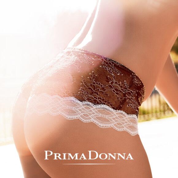 PrimaDonna - Crystal luksusstring black