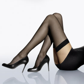 Wolford - Stay Up Individual 10 denier black