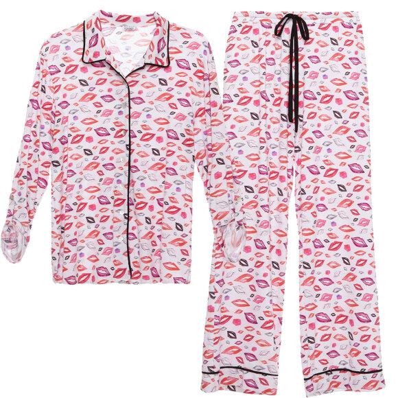 Cosabella - Aubrie printed pyjamas lips