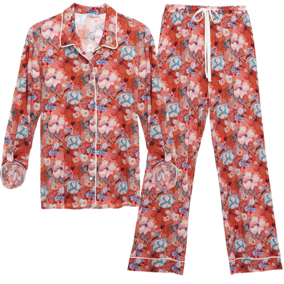Cosabella - Aubrie printed pyjamas faded rose