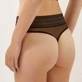 ELSE LINGERIE - Bare string black