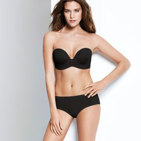 Wonderbra - Perfect stropløs bh black