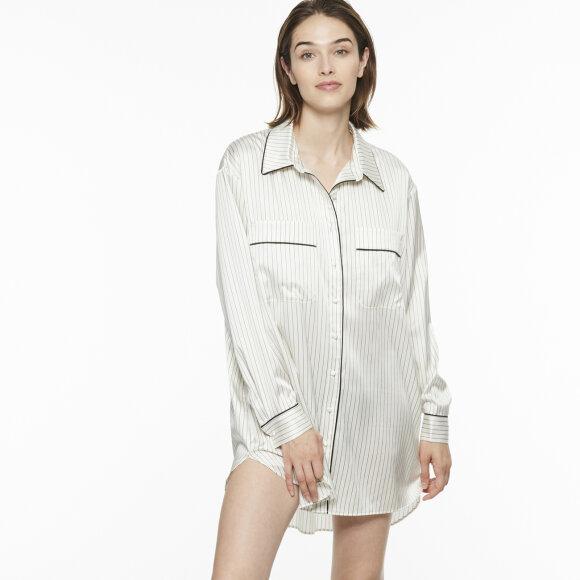 Chantal Thomass - Colombine silke skjorte ivory