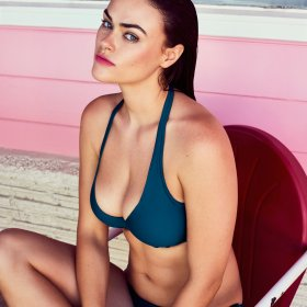 PrimaDonna Swim - Cocktail bikinitop trekant med fyld booboo bleu