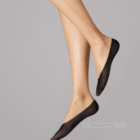 Wolford - Cotton Footsies black