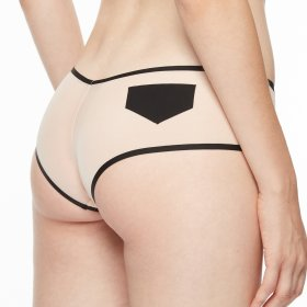 Chantal Thomass - Singuliere boxer shorts nude/black