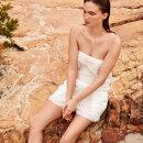 MARIE JO SWIM - Bianca kort buksedragt natural