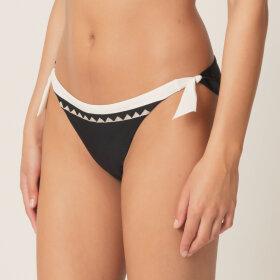 7fb27fd7 ... Quickshop · MARIE JO SWIM - Gina lav bikinitrusse med bånd black