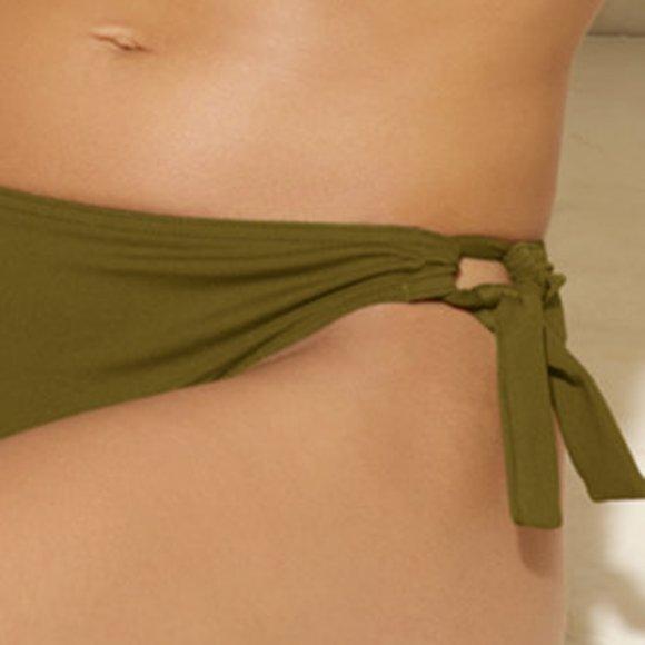 ERES - Duni PROFIT bikinitrusse med bånd croco