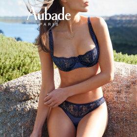 Aubade - Rive Gauche Passion bh halv skål BCD crepuscule
