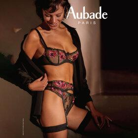 Aubade - Reve Eveille bh halv skål BCD obscur