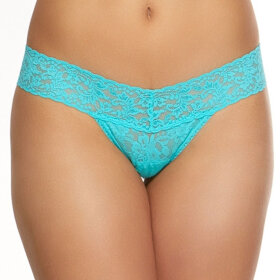 Hanky Panky - Signature Lace Low Rise thong seafoam-