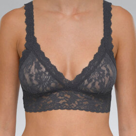 Hanky Panky - Signature Lace Crossover Bralet  granite-
