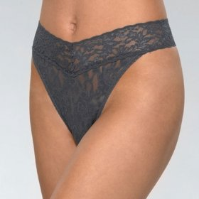 Hanky Panky - Signature Lace Original Rise thong granite-