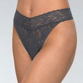 Hanky Panky - Signature Lace Original Rise thong granite-