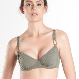 Aubade - Esprit Sauvage bikinitop 3/4 skål kaki