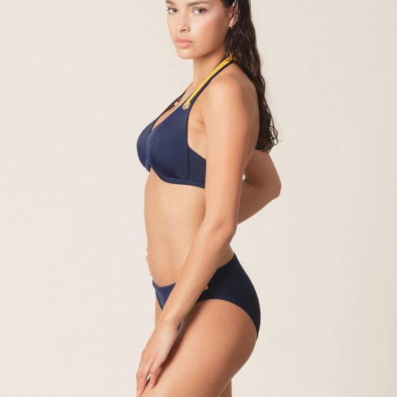 MARIE JO SWIM - Claudia Rio bikinitrusse water blue