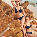 MARIE JO SWIM - Claudia bikinitop trekant med fyld water blue