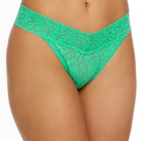 Hanky Panky - Signature lace Original Rise thong agave green