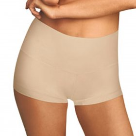 Maidenform - Tame Your Tummy Shaping Boyshorts nude
