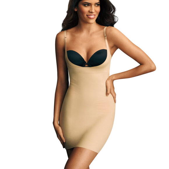 Maidenform - Take Inches Off shapingkjole body beige