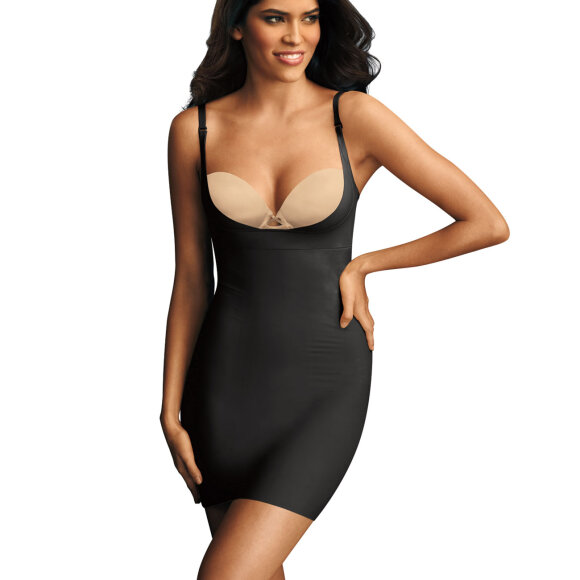 Maidenform - Take Inches Off Shapingkjole body black