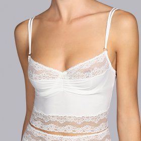 Andres Sarda - Verbier bustier / long line bh natural