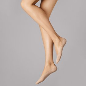 Wolford - Cotton Footsies sisal