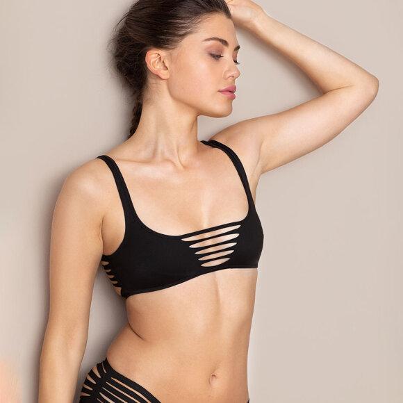 AGENT PROVOCATEUR - Dakotta bikinitop black
