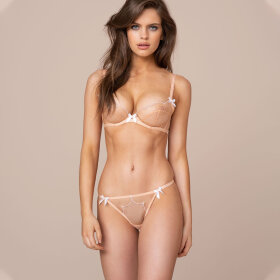 AGENT PROVOCATEUR - Lorna string nude-