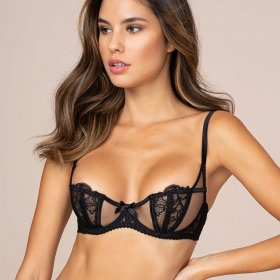 AGENT PROVOCATEUR - Rozlyn bh balconet black