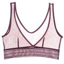 ELSE LINGERIE - Bare sporty bralette uden bøjle grape