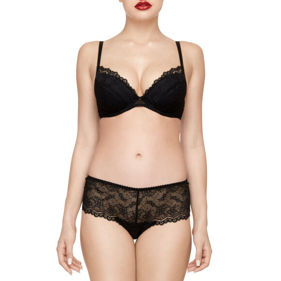 Viola Sky - Miss Butterfly bh push up black