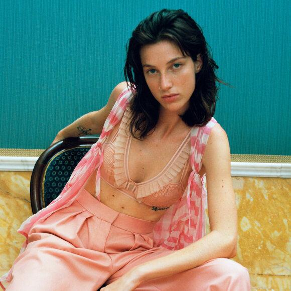 Chantal Thomass - Addicte bh med bøjle dybt V opal