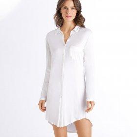 Hanro - Grand Central natkjole 90 cm off white