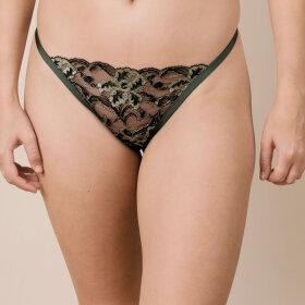 LA PERLA - Adria string green/black