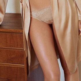 LA PERLA - Lapis Lace String beige-