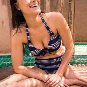 PrimaDonna Swim - Mogador bikinitop trekant med fyld sapphire blue