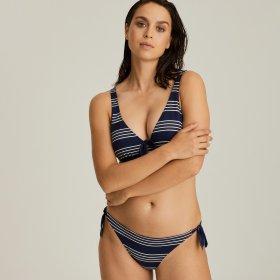 PrimaDonna Swim - Mogador lav bikinitrusse med bånd sapphire blue