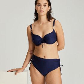 PrimaDonna Swim - Sherry høj bikinitrusse med bånd sapphire blue