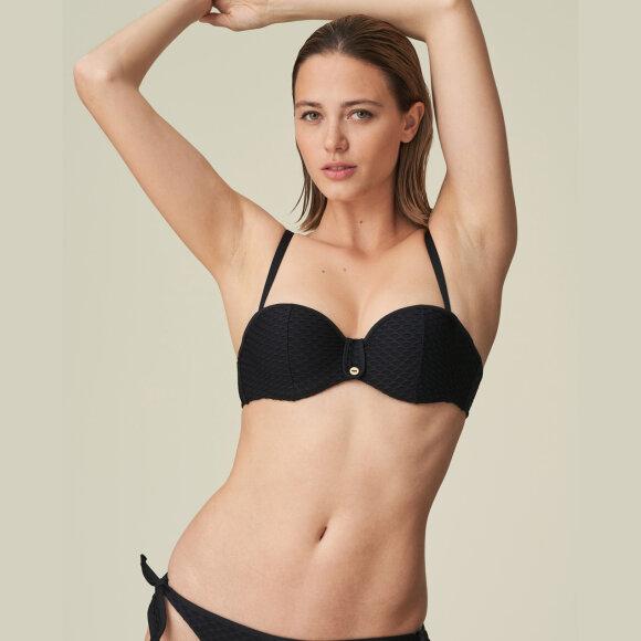 MARIE JO SWIM - Brigitte bikinitop med fyld stopløs black
