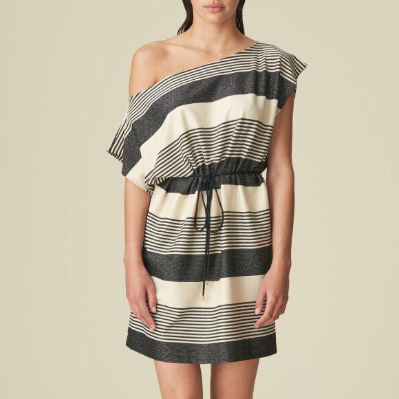 MARIE JO SWIM - Merle swimwear kjole noir rayure