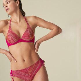 MARIE JO SWIM - Esmee bikinitop hel bøjle dybt V wild rose