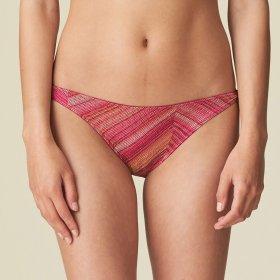 MARIE JO SWIM - Esmee bikinitrusse med bånd wild rose